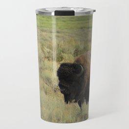 Grazing Buffalo Travel Mug
