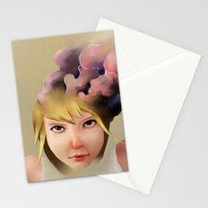 Girl mind Stationery Cards