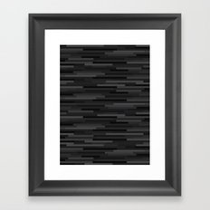 Black Estival Mirage Framed Art Print