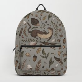 Weasel and Hedgehog Backpack