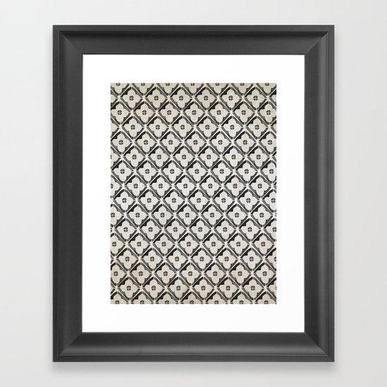 Moroccan Boho Black & White Pattern by cateandrainn