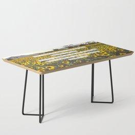 Jeremiah Sunflowers Coffee Table