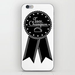 Taco Champion iPhone Skin