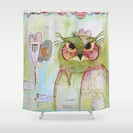 Who You Are Shower Curtain