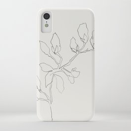 Floral Study No. 3 iPhone Case