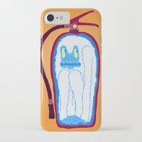 vans iPhone & iPod Cases featuring Vans & Color Magazine by Hugo Diaz Romero