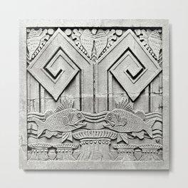 Deco-Rative Fish Metal Print