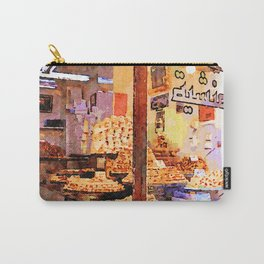 Showcase of Aleppo pastry shop Carry-All Pouch
