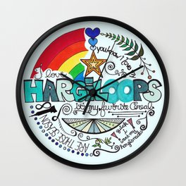 Hargiloops Wall Clock