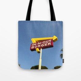 Retro burger Tote Bag