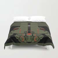 pacific rim Duvet Covers featuring Pacific Rim - Cherno Alpha - Minimal Poster by John Takacs