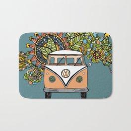 VW bus Bath Mat