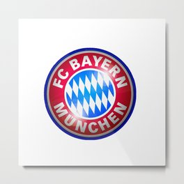 Bayern Munchen Logo Metal Print