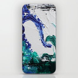 Mini Series [Musical Waves - Oceanic] iPhone Skin