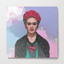 Trendy Frida Kahlo-Ferwell Metal Print