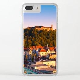 LJUBLJANA 02 Clear iPhone Case