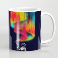 astronomy Mugs featuring Space vandal by Picomodi