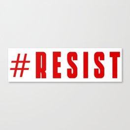 #RESIST Canvas Print