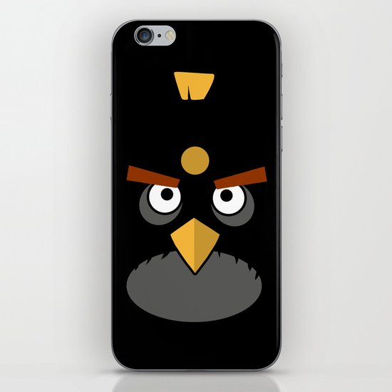 Black and Angry iPhone & iPod Skin