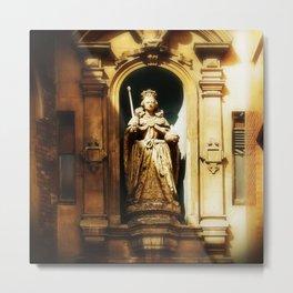 Queen Elizabeth 1st Statue Metal Print
