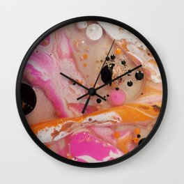 Abstract Fluidity Wall Clock