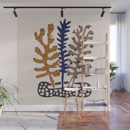 Plant Composition III Wall Mural