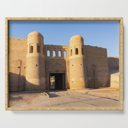 South Gate of Khiva - Uzbekistan Serving Tray