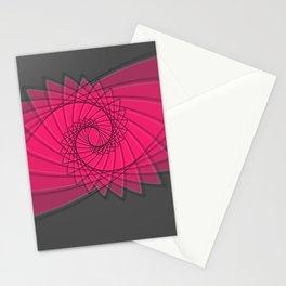 hypnotized - fluid geometrical eye shape Stationery Cards