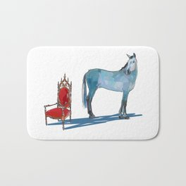 animals with chairs #1 The argument Bath Mat