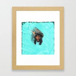 George Underwater Framed Art Print