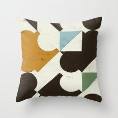 Retrometry I Throw Pillow