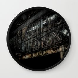 The Cage Wall Clock