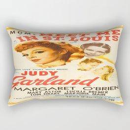 Vintage poster - Meet Me in St. Louis Rectangular Pillow