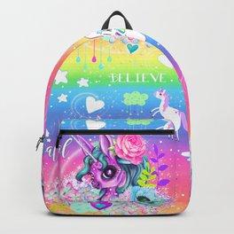 I wanna be a Unicorn Pattern Backpack