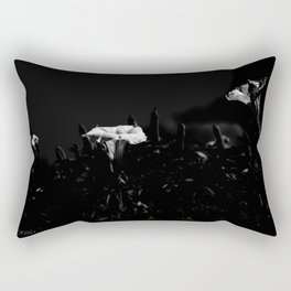 WHITE GLOW Rectangular Pillow