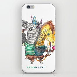 KnickKnakk iPhone Skin