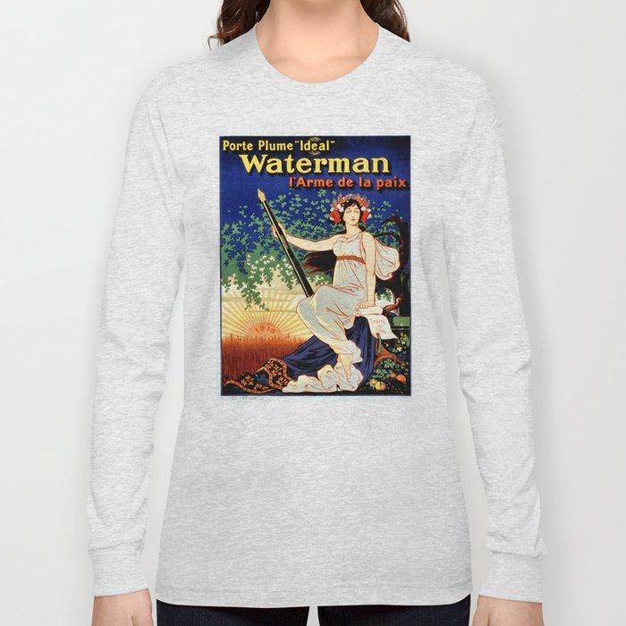 Waterman fountain pens 1919 Long Sleeve T-shirt