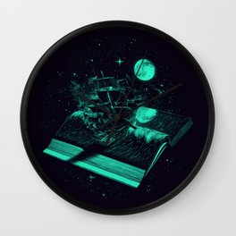 Crossing the Rough Sea of Knowledge   Wall Clock