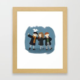 Friendship and magic Framed Art Print