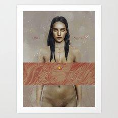 Verso.  Art Print