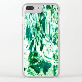 491 - Abstract Water design Clear iPhone Case