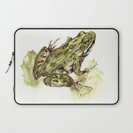 Northern Leopard Frog Laptop Sleeve