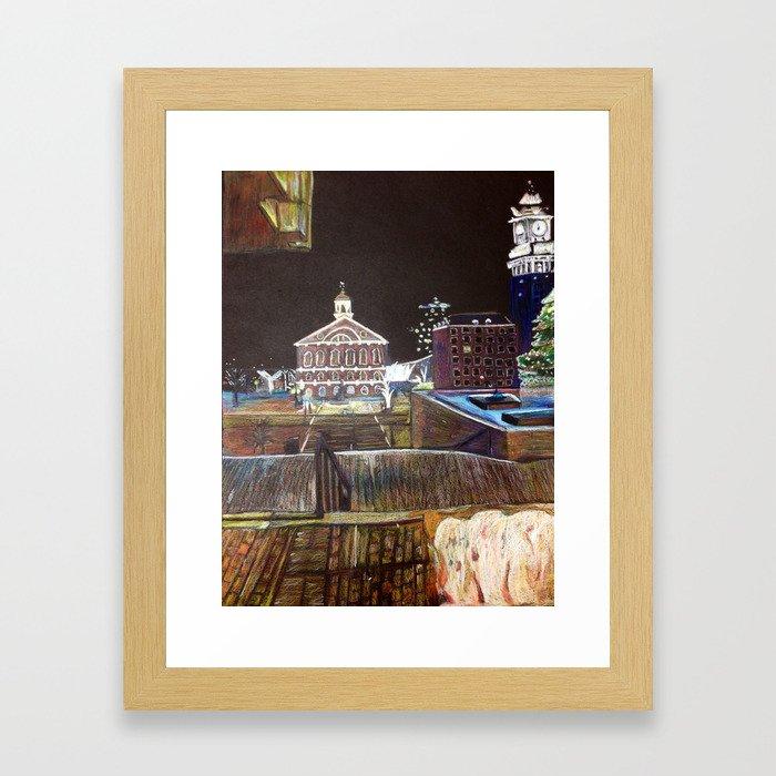 Beantown Framed Art Print