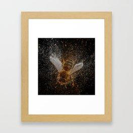 Bees Are Magic Framed Art Print
