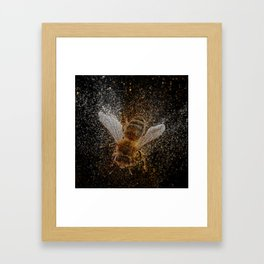 Bees Are Magic Framed Art Print