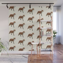 Mr Red Fox Wall Mural