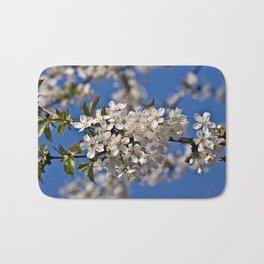 Magic White Cherry Blossom Dream Bath Mat