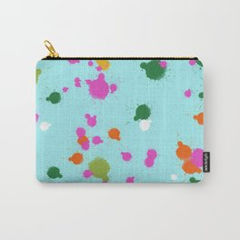 Splash on the wall Carry-All Pouch