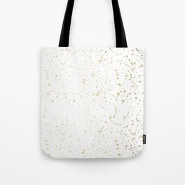 Los Angeles Nights Gold Paint Tote Bag
