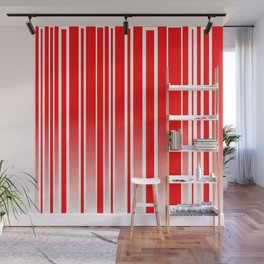 Red Track Wall Mural